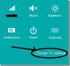 change pcsettings