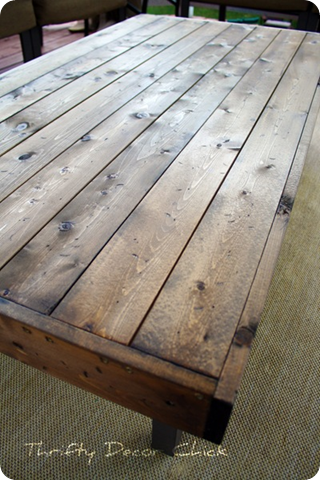 outdoor wood table tops 1