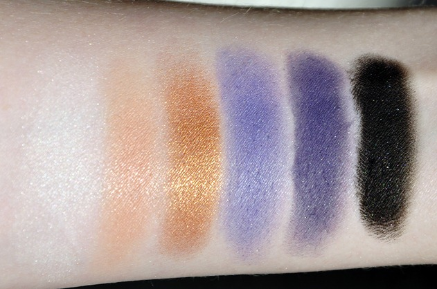 Makeup Geek Eyeshadow Review Z-Palette Colours swatches 2