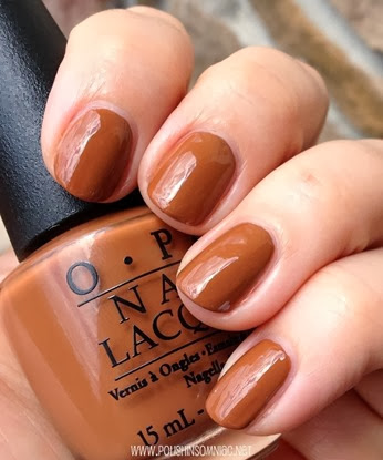 OPI A-Piers to be Tan 2