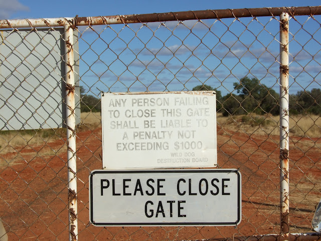 NSW_QLD border - Hungerford