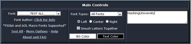 text ascii generator
