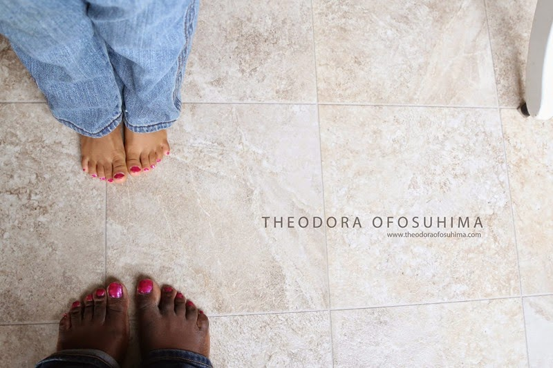 theodora ofosuhima aoi and mummy feet