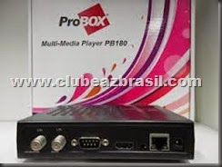 NOVA ATUALIZAÇÃO PROBOX 180 HD