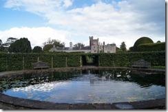 Levens Hall garden fountain