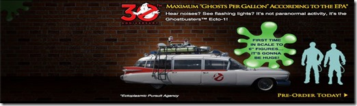 Ghostbusters Ecto-1 announcement
