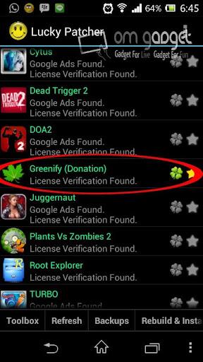 Menambah Free RAM Android dengan Greenify Donate