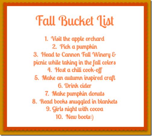 fall bucket
