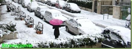 roma sotto la neve 2012