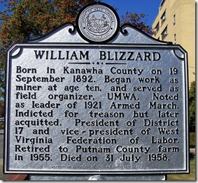 William Blizzard marker in Charleston, WV (Click any photo to enlarge)