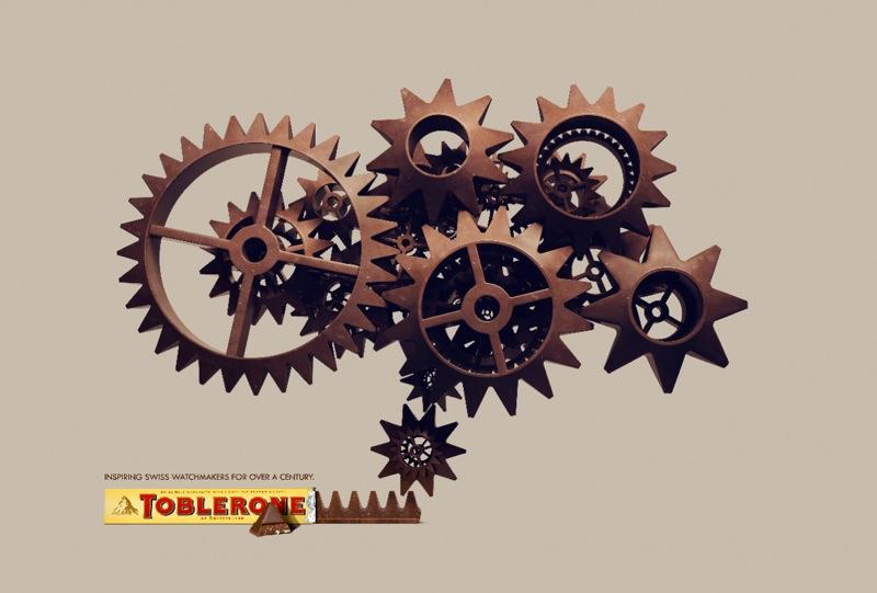 Toblerone cogs