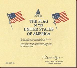 FlagCertificate