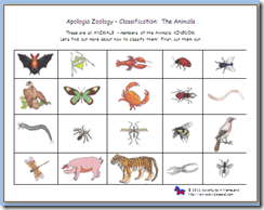 Zoology Worksheets - Khayav