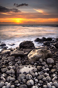 Nash Point Sunset by John Powell EFIAP DPAGB BPE4