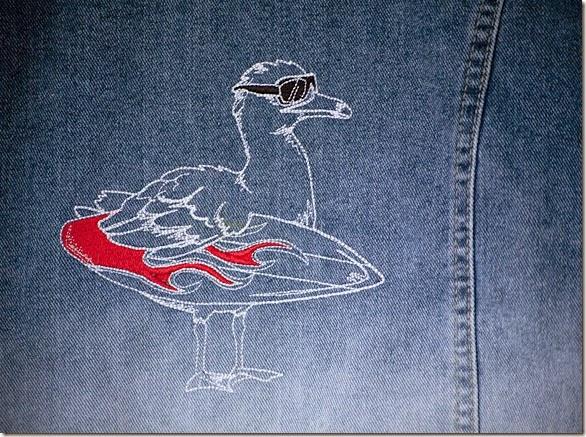 Surf Bird Waistcoat6