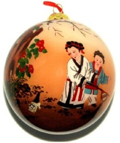 chinese children at play ornament