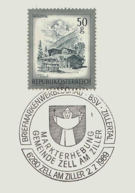 Briefmarken-Sonderstempel zur Markterhebung