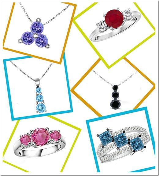 Three-Stone Jewelry