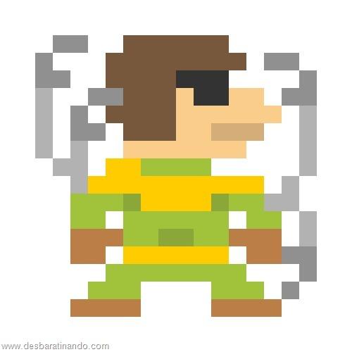 super herois e viloes em 8 bits homem aranha (7)