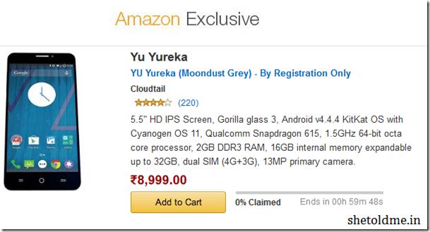 Micromax+Yu+Yureka+Amazon+Flash+Sale+01