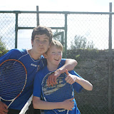 Conor Caheny and Cilian Egan, Sligo Tennis Club&Acirc;&nbsp;