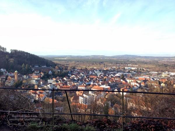Landstuhl from Castle