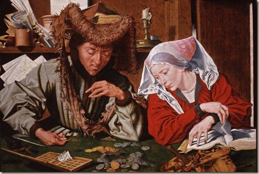 Los banqueros - Botticelli
