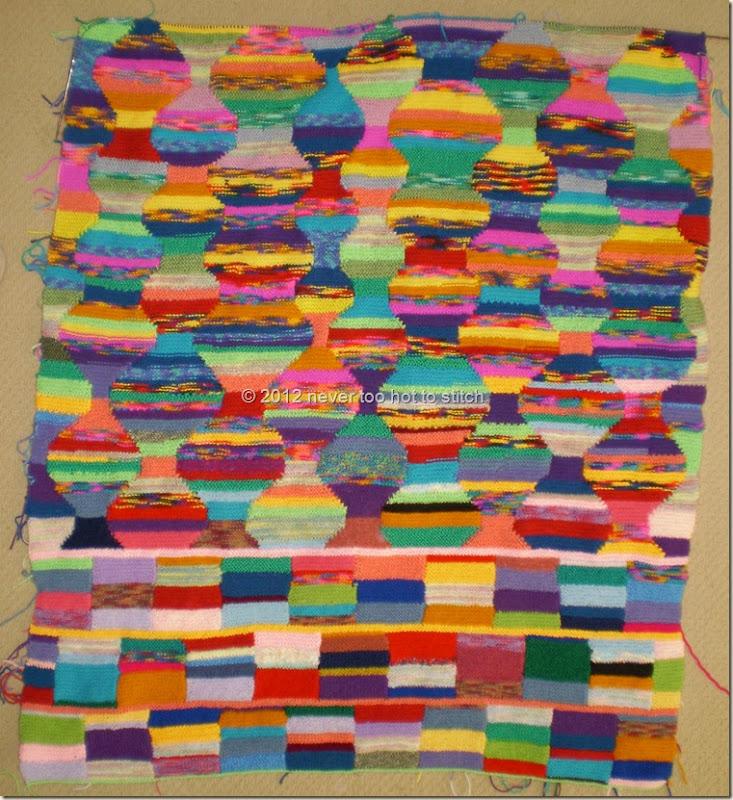 2012 Intarsia Blanket 414 rows