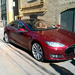 fastest electric production car SPECIAL MODEL S by Tesla in Toronto, Ontario, Canada