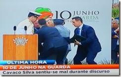 10 de Junho Cavaco desfalece. Jun.2014