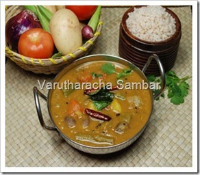 Varutharacha Sambar