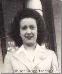 Peg Weber Stull, 1943