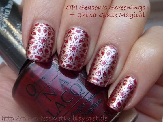 OPI Season's Screenings Stamping 4