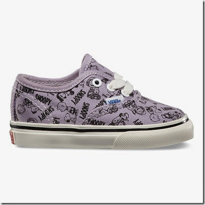 Vault by Vans X Peanuts OG Authentic LX Toddler Sizes Lavender