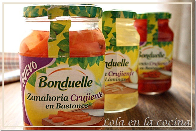 verduras Bonduelle