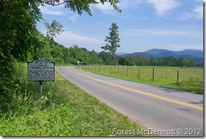 A Camp of Stonewall Jackson's, on Route 670, Madison Co. VA Marker JE-15