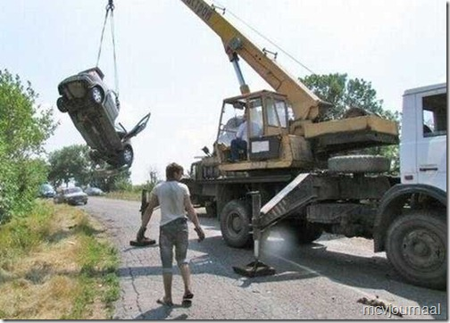Dacia crash in Rusland 02