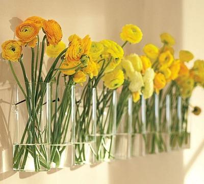 Blommor på rad, Trendir