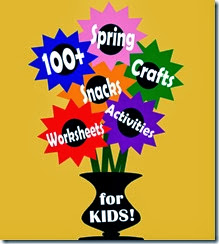 100+ Spring Crafts and Kids Activiites