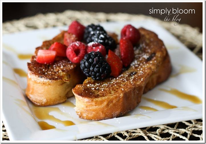 Cinnamon Raisin Swirl French toast (1 of 1)