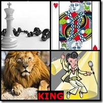 KING- 4 Pics 1 Word Answers 3 Letters
