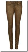 Ted Baker Metallic Skinny Jeans