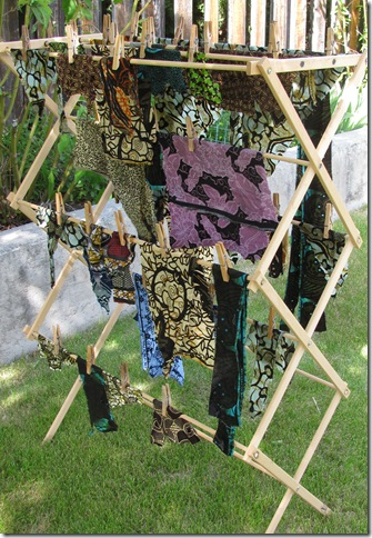 African scraps drying
