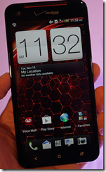 HTC Droid DNA Screen