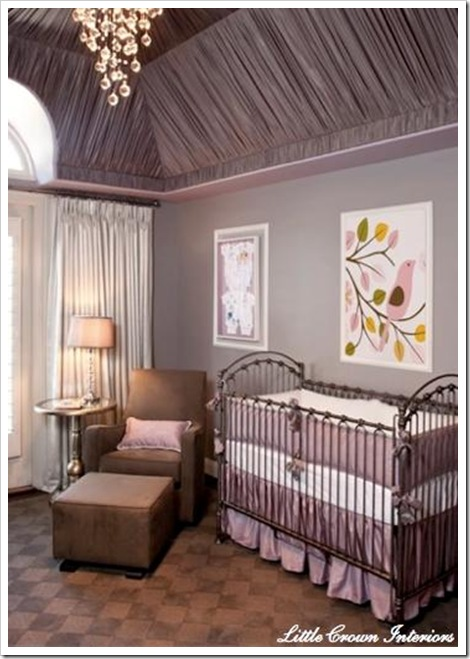 nursery little crown interiors
