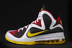 nike lebron 9 pe mvp 1 03 Unreleased Nike LeBron 9 MVP   Black Midsole Sample