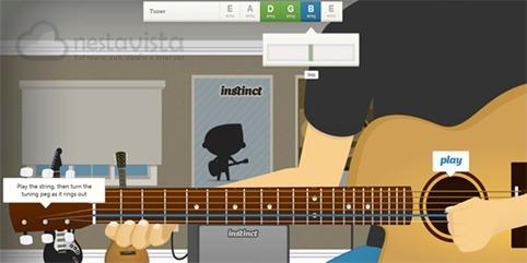 Clases virtuales de guitarra por internet