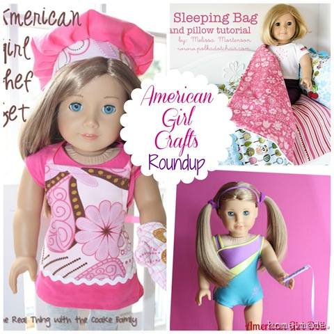 American Girl Crafts Roundup