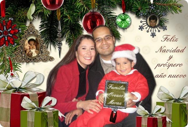 091224 Tarjeta Familia Orozco Meraz Navidad 2009