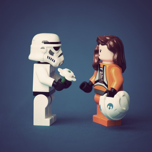 LEGO Stormtroopers Love